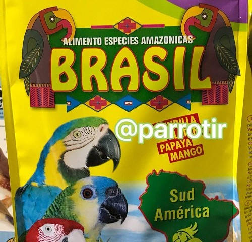 غذای تخصصی طوطی برزیلی و ماکائو ها برند کی کی اسپانیا